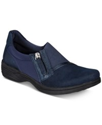 Easy Street Shoes Dreamy Clogs Navy