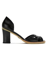 Sarah Chofakian Leather Pumps Black