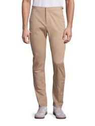 Orlebar Brown Campbell Tapered Twill Trousers Softsand