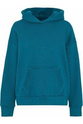 Simon Miller Boise French Cotton Terry Hoodie Teal
