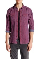 Mavi America Sportswear Double Pocket Fitted Shirt Red