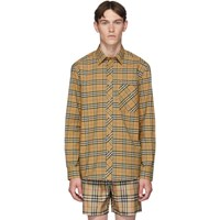 Burberry Beige Classic Check Shirt