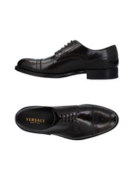 Versace Footwear Lace Up Shoes