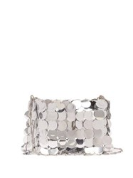 Paco Rabanne Sparkle 1969 Sequinned Shoulder Bag Silver