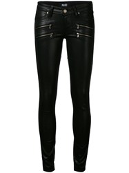Paige 'Edgemont' Ultra Skinny Jeans Women Cotton Polyester Spandex Elastane Rayon 26 Black