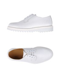 Marc Jacobs Lace Up Shoes White