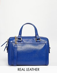 Reiss Leather Tote Bag With Detachable Chain Strap Serpentine