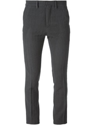 Christopher Kane Herringbone Trousers Grey
