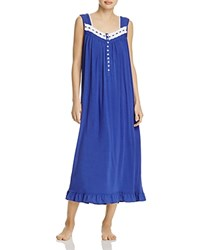 Eileen West Sleeveless Ballet Nightgown Navy