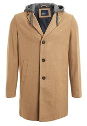 Springfield Winter Coat Beige Kamel