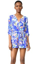 Yumi Kim Liz Romper Enchanted Garden Royal