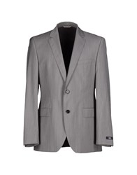 Boss Black Suits And Jackets Blazers Men Grey