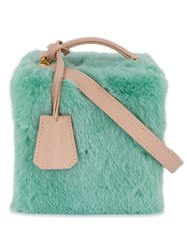 Natasha Zinko Mini Box Bag Green