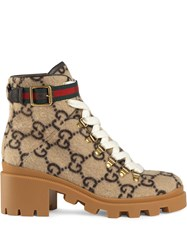 Gucci Gg Wool Ankle Boot 60