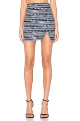 Bcbgeneration Slit Mini Skirt Blue