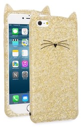 Kate Spade New York 'Glitter Cat' Iphone 6 Plus And 6S Plus Case