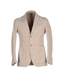 Massimo Rebecchi Suits And Jackets Blazers Men Beige