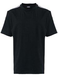 Ktz Side Stripe T Shirt Black