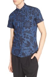 Antony Morato Men's Slim Fit Print Woven Shirt