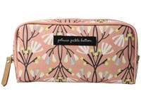 Petunia Pickle Bottom Glazed Powder Room Case Blissful Brisbane Cosmetic Case Pink