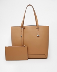 Mango Smart Shopper Bag Beige