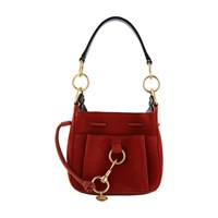 See By Chloe Tony Small Bucket Bag Faded Red