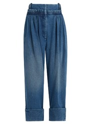 J.W.Anderson Pleat Front Wide Leg Jeans Denim