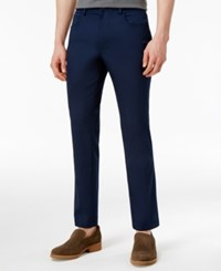 Inc International Concepts Men's Stretch 5 Pocket Pants Only At Macy's Basic Navy