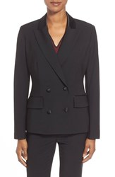 Women's Pink Tartan Double Breasted Tuxedo Jacket