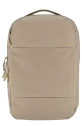 Incase Designs Men's City Commuter Backpack Brown Khaki