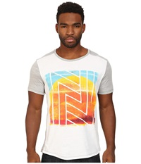 Howe New Son Graphic Tee White Heather Grey Men's T Shirt