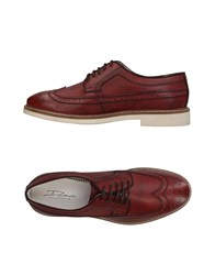 Dama Lace Up Shoes Brick Red