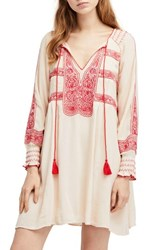 Urban Outfitters 'S Free People Wind Willow Minidress Ivory