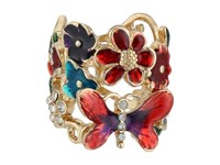 Guess Butterfly Flower Ring Multi Ring