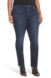 Lucky Brand Plus Size Women's 'Emma' Stretch Straight Leg Jeans Goleta