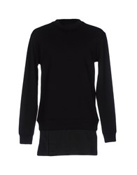 D By D Topwear Sweatshirts Black