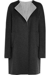 Jil Sander Reversible Cashmere Coat Dark Gray