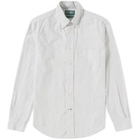 Gitman Brothers Vintage Oxford Stripe Shirt White