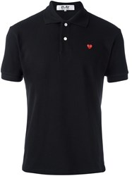 Comme Des Garcons Play Classic Polo Shirt Black