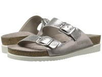 Mephisto Harmony Old Pink Venise Women's Sandals Silver