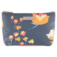 Radley Botanical Large Cosmetic Case Grey