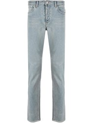 Givenchy Mid Rise Slim Fit Jeans Blue