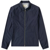 Folk Box Jacket Blue