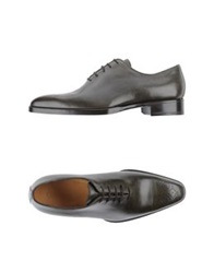 Sutor Mantellassi Lace Up Shoes Military Green