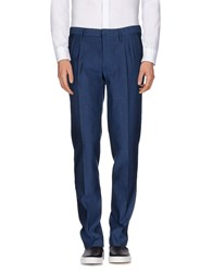 Incotex Red Trousers Casual Trousers Men Dark Blue
