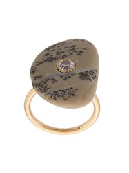 Cvc Stones Stone Setting Cocktail Ring Multicolour