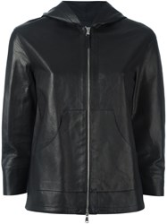 Eleventy Hooded Jacket Black