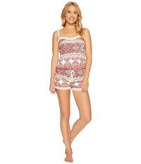 Pj Salvage Festival Romper Multi Women's Jumpsuit And Rompers One Piece
