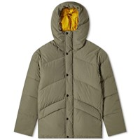 Woolrich Outdoors Snow Patrol Down Parka Green