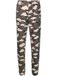 Love Moschino Military Cloud Joggers Green